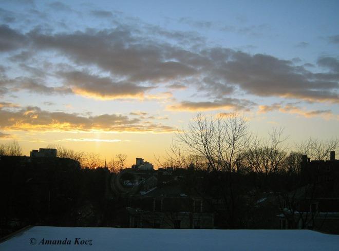 Sunrise, January 7, 2013