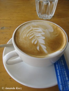 Brisbane - proper coffee in West End.