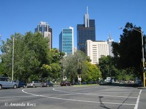 Melbourne - Carlton somewhere.