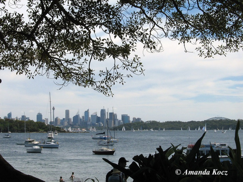 View of city from Watson's Bay.
