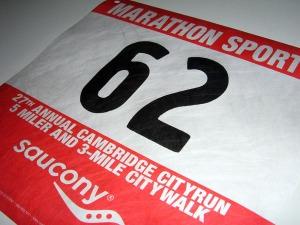 Cambridge City Run - tomorrow!