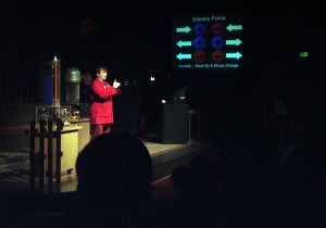 MoS Presenter at the Lightning Show.