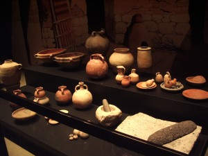 Lots of pottery.