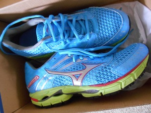Mizuno Wave Inspire 9: blue.