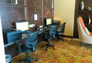 Excellent business center