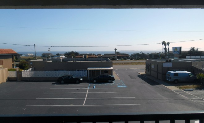 'Ocean View' at the Days Inn San Simeon.