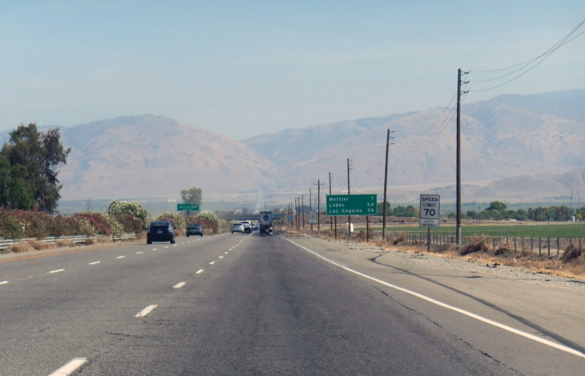Urg, freeway mountain.