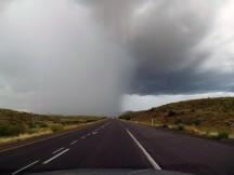Yep, we went under that storm