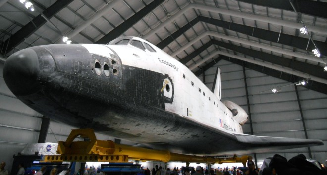 Endeavour at the California Science Center