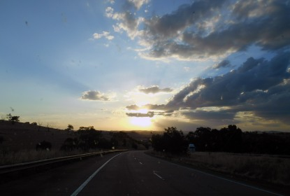 Somewhere on the Hume Highway, NSW