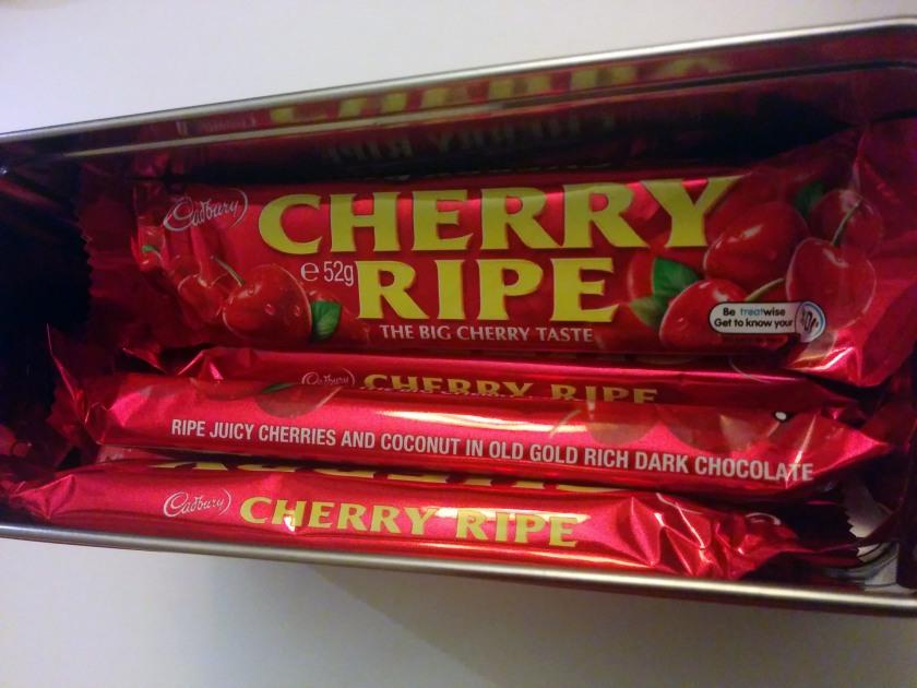 Mmmm cherry goodnesss.
