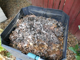After using the aerator it was clear there was no compost!