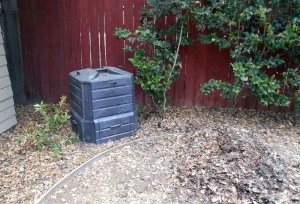Sit back and wait for the compost!