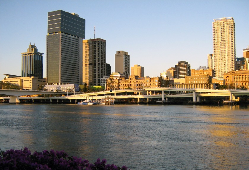 Brisbane circa 2006 - my favourite place in Australia