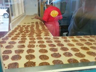 Praline production line